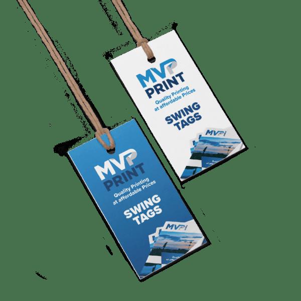 Swing Tags Printing by MVP Print