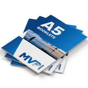 A5 Saddle Stitched Booklets