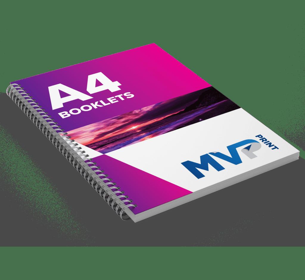 A4 Wirebound Booklets