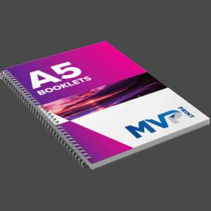 A5 Wirebound Booklets