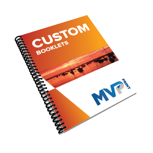Custom Coil Bound Booklets Product Pic